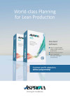 Brochure Production Planning Software